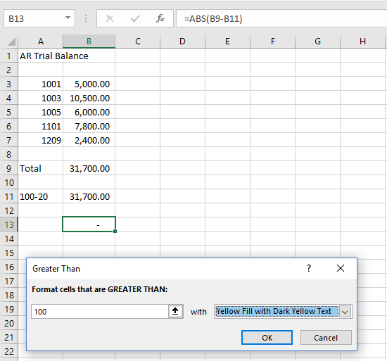 Vlookup and conditional formatting